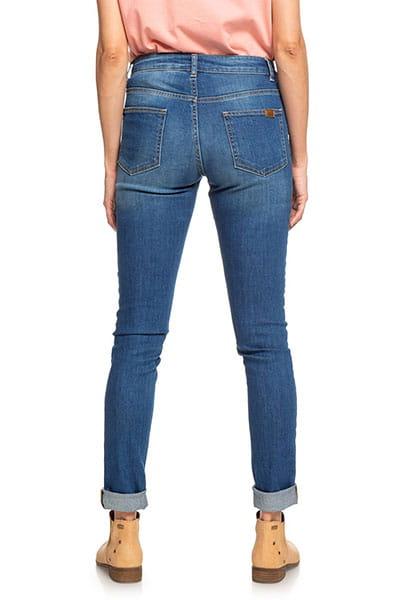 Джинсы прямые женские Roxy Standby Youdeni Medium Blue