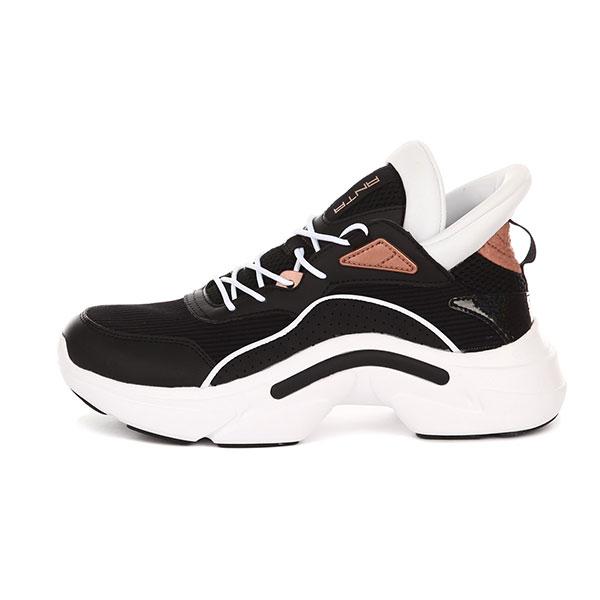 Кроссовки женские ANTA Повседневная Обувь Черный/Белый-9