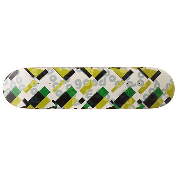 Дека для скейтборда Goodwood Logo Multicolor 31.5 x 7.75 (19.7 см)