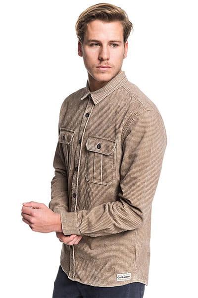 Вельветовая QUIKSILVER рубашка с длинным рукавом Sara Toga