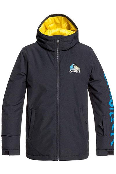 Куртка сноубордическая утепленная QUIKSILVER Inthehood Black