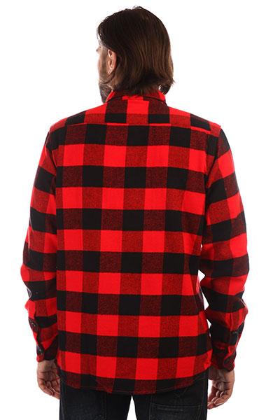 Рубашка в клетку Dickies Sacramento Red7