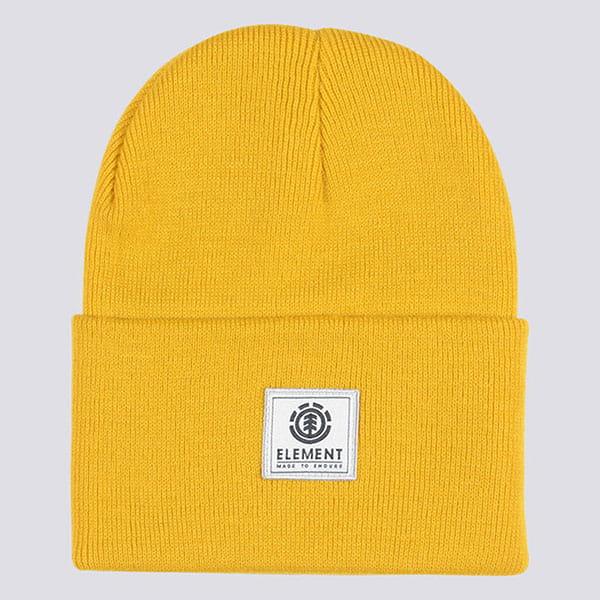 Шапка-носок Element Dusk Ii Beanie Mineral Yellow