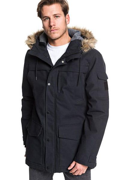 Куртка зимняя QUIKSILVER Stormdrop5k Black