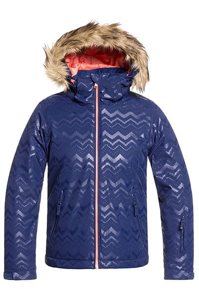 Куртка утепленная Roxy Jet Ski Sol G J G Medieval Blue Aztecs