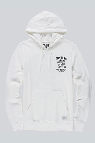 Толстовка кенгуру Element Supply Co Ho Off White