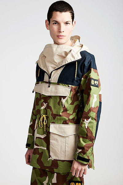 Анорак Element Griffin Smock Abstract Camo