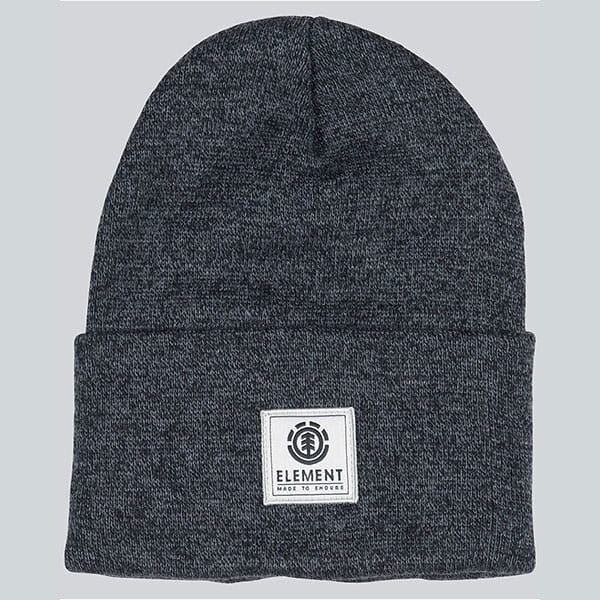 Шапка носок Element Dusk Ii Beanie A Asphalt Heather