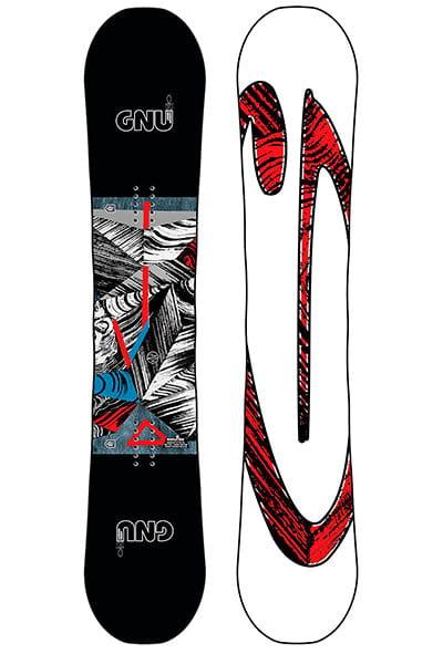 Сноуборд GNU Asym Carbon Credit Btx Multicolor