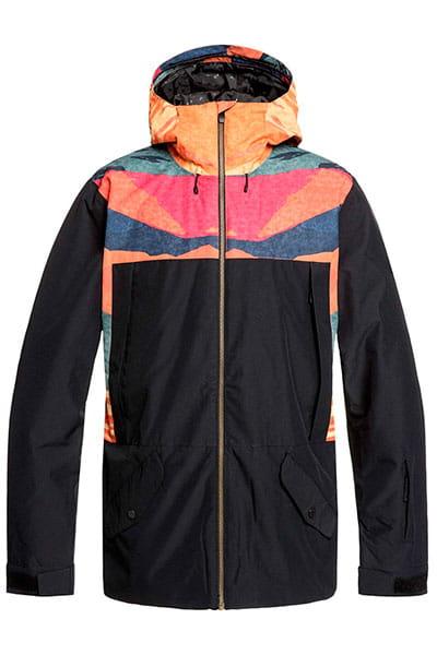 Куртка сноубордическая утепленная QUIKSILVER Tr Ambition Apricot Orange Tr Su