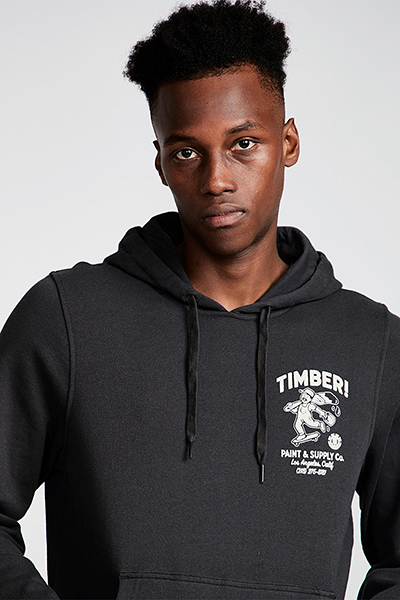 Толстовка кенгуру Element Supply Co Ho Off Black