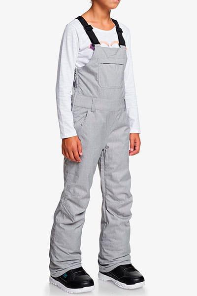 Детские сноубордические штаны ROXY с подтяжками Non