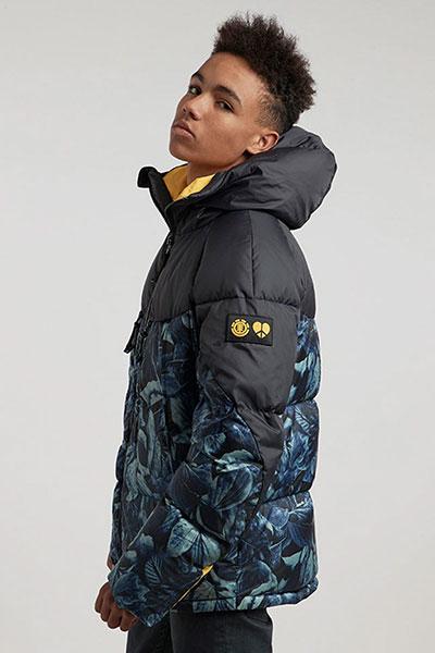 Куртка зимняя Element Griffin Heavy Down Leaf Camo