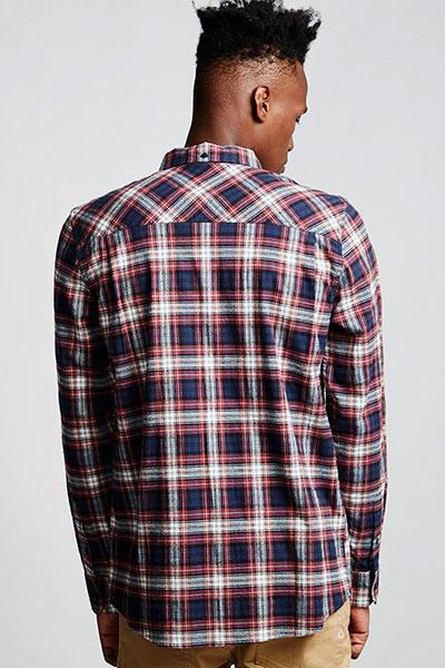 Рубашка в клетку Element Lumber Classic Port