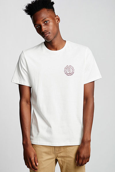 Футболка Element Too Late Logo Off White
