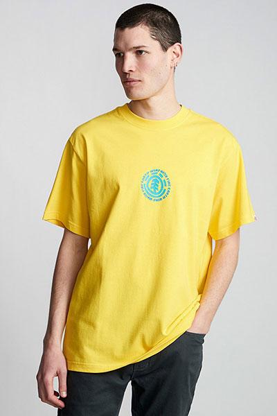 Футболка Element Dotted Bright Yellow