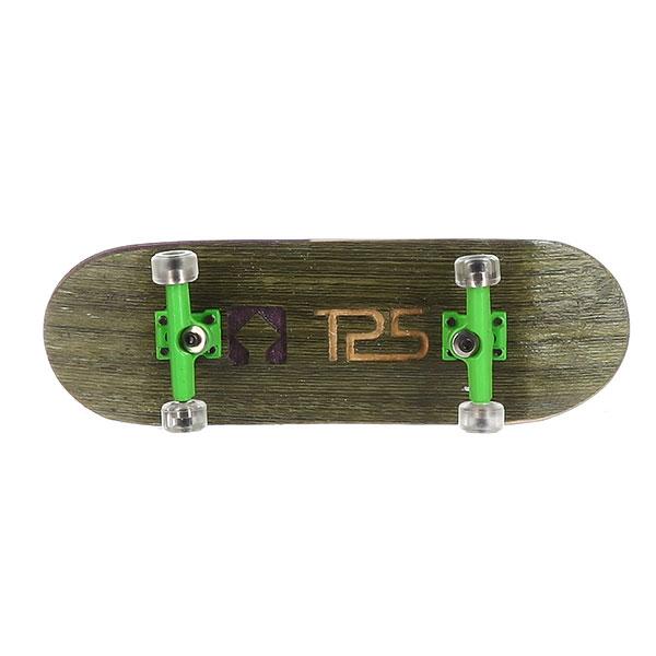 Комплект фингербордов Turbo-FB History Green/Green/Clear