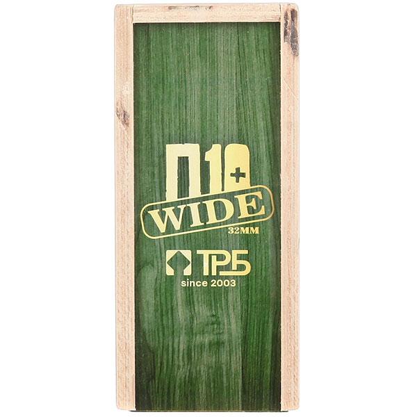 Комплект фингербордов Turbo-FB П10 Wide 32м с деревянным боксомГрафика нанесена гравировкой Green/White/Clear