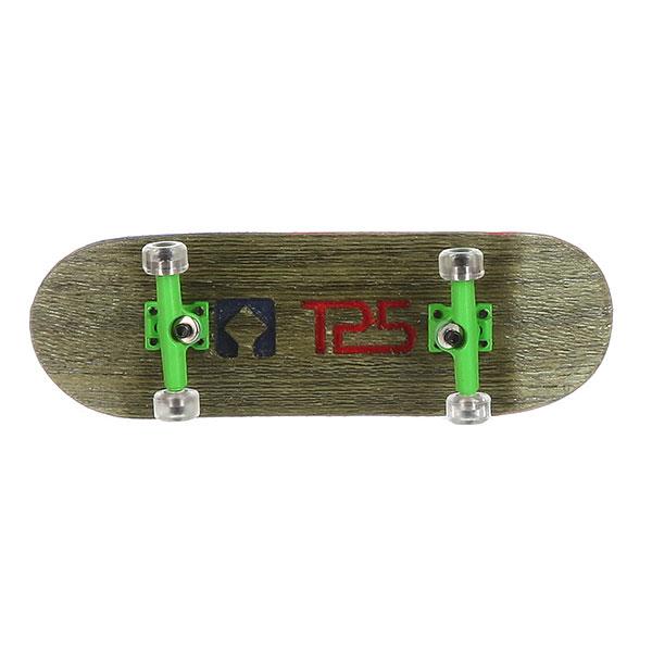 Комплект фингербордов Turbo-FB П10 Wide 32м С Деревянным Боксомграфика Нанесена Гравировкой Green/Green/Clear9