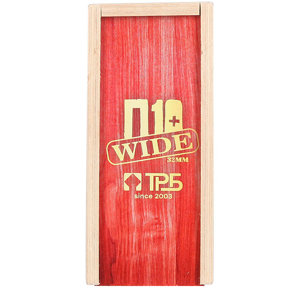 Комплект фингербордов Turbo-FB П10 Wide 32м С Деревянным Боксомграфика Нанесена Гравировкой Red/White/Clear