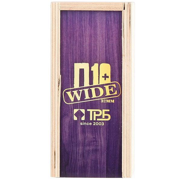 Комплект фингербордов Turbo-FB П10 Wide 32м С Деревянным Боксомграфика Нанесена Гравировкой Purple/White/Clear