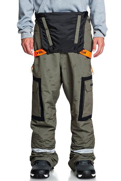 Сноубордические штаны DC SHOES с подтяжками Revival
