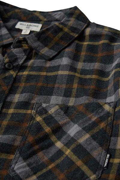 Рубашка в клетку Billabong Fremont Flannel