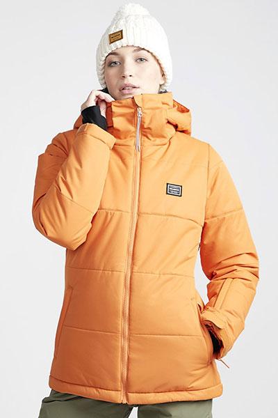 Куртка утепленная женская Billabong Down Rider Orange