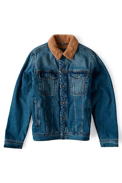 Куртка джинсовая Billabong Barlow Trucker Ocean Wash