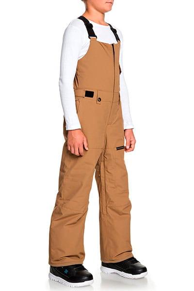 Детские сноубордические штаны QUIKSILVER с подтяжками Utility