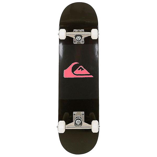 Скейтборд в сборе  Division Black 7.75 (19,6 см)