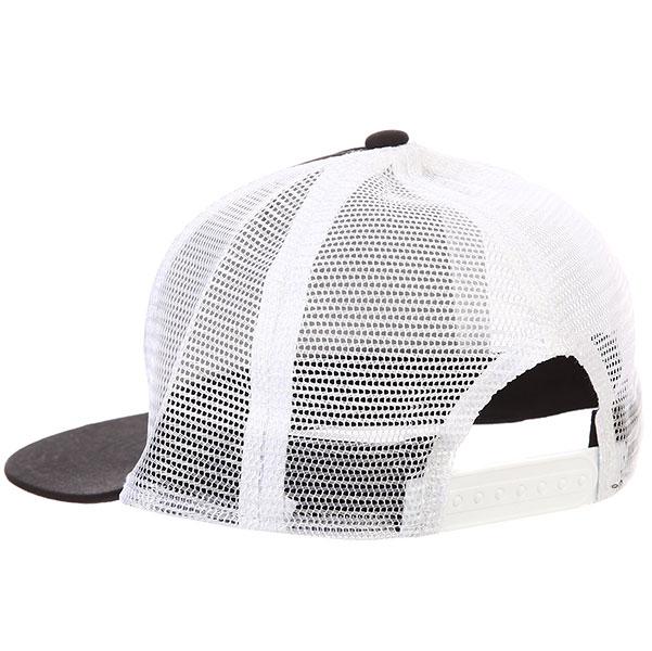 Бейсболка с сеткой Carhartt WIP Wip Script Cap Black/White