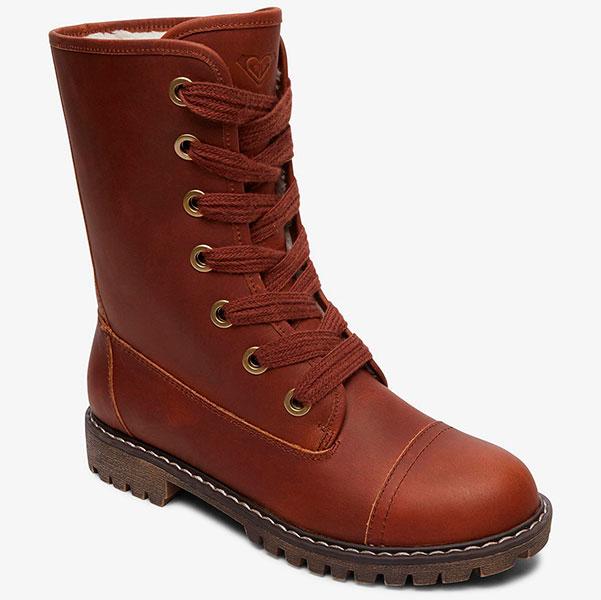 Кожаные  ботинки ROXY Vance