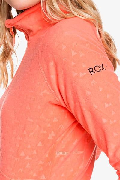 Флисовая толстовка ROXY на молнии Cascade