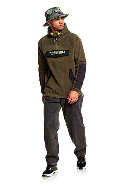 Толстовка утепленная DC Shoes Tagans Hood Fatigue Green