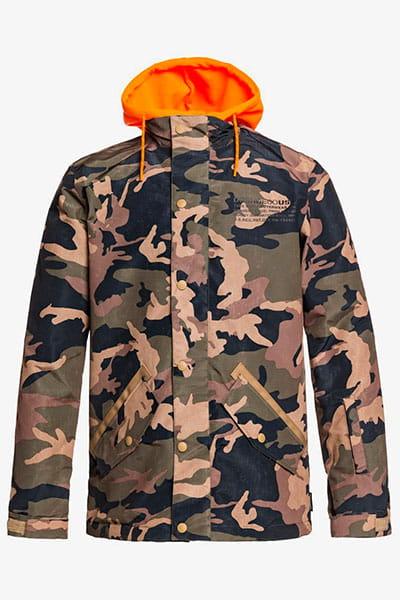Куртка сноубордическая утепленная DC Shoes Union Olive Night Mns Vint
