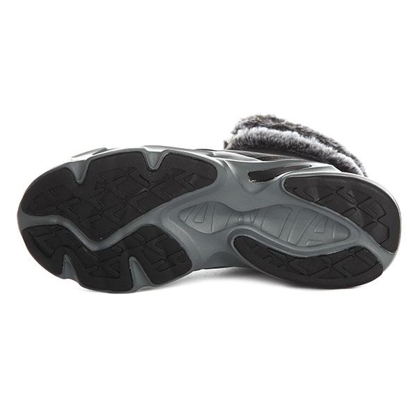 Ботинки зимние женские ANTA Повседневная Обувь Черный/Серый-8807-10