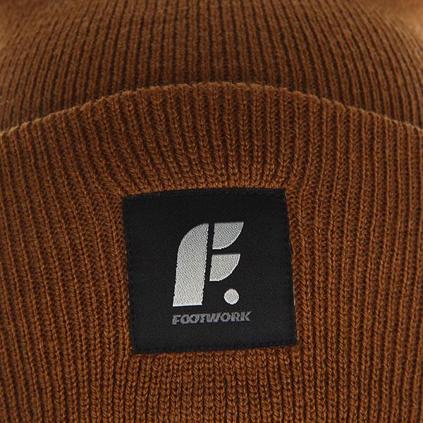 Шапка носок Footwork Fold Brown