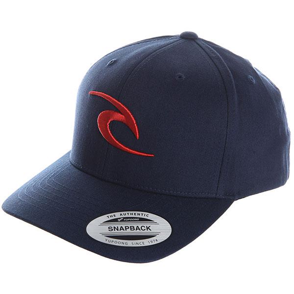 Бейсболка классическая Rip Curl Tepan Curved Cap Navy