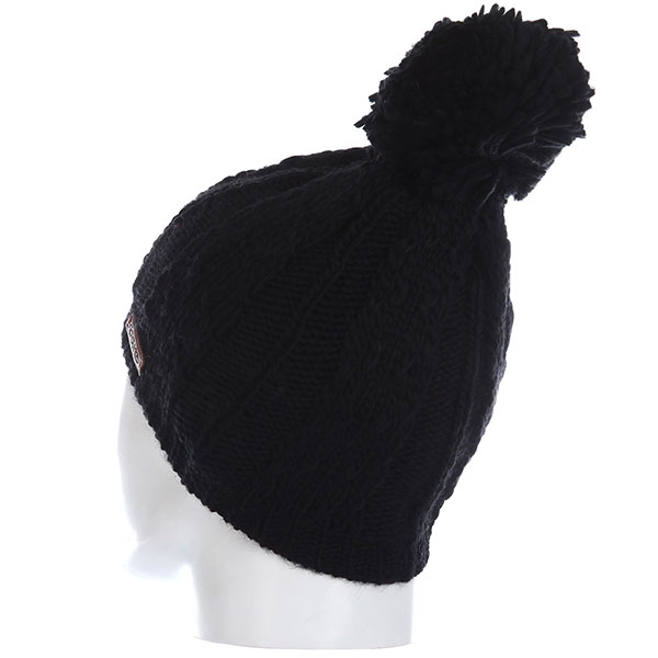 Шапка Rip Curl Plaity Beanie Jet Black