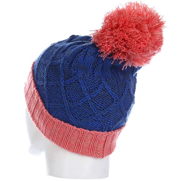Шапка Rip Curl Wool Pompom Girl Beanie Palace Blue