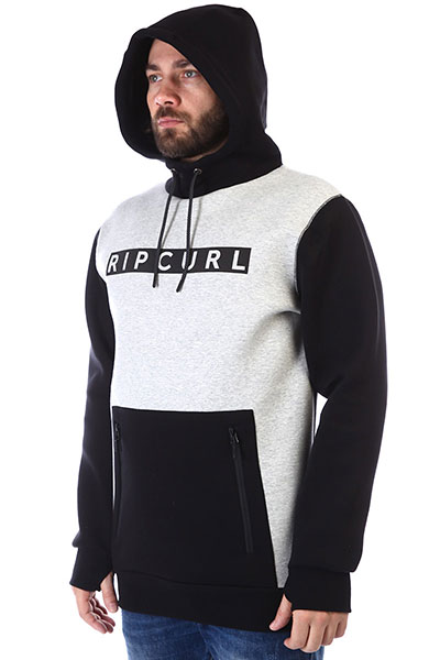 Толстовка Rip Curl   М SEARCH FLEECE 4284 JET BLACK