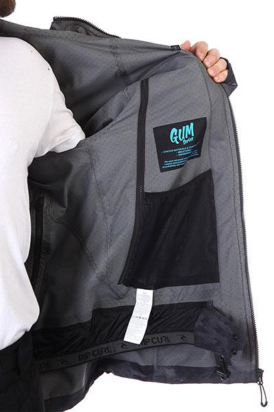 Куртка Rip Curl  сноубордическая М PRO GUM JKT 563 STEEL GREY
