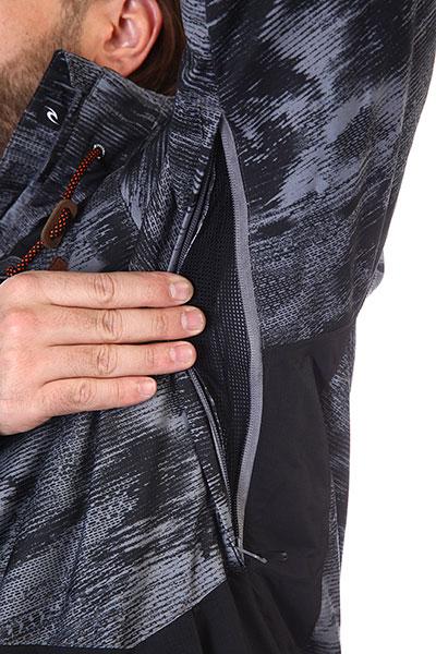 Куртка Rip Curl  сноубордическая М POW JKT 563 STEEL GREY
