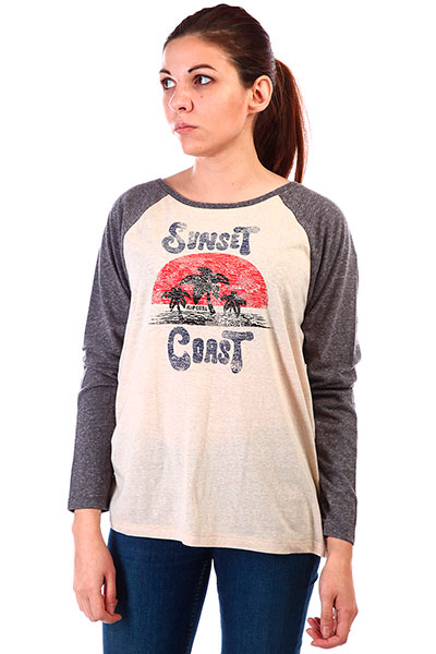 Лонгслив SUNSET COAST LONG SLEEVE TEE