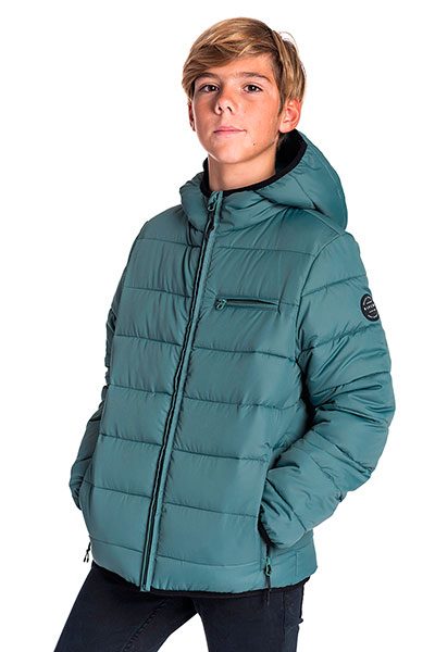 Куртка зимняя детская Rip Curl Puffer Wave Boy Jacket Dark Forest