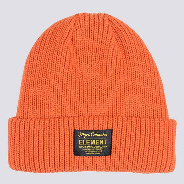 Шапка Element N. Cabourn Hash Bean Orange