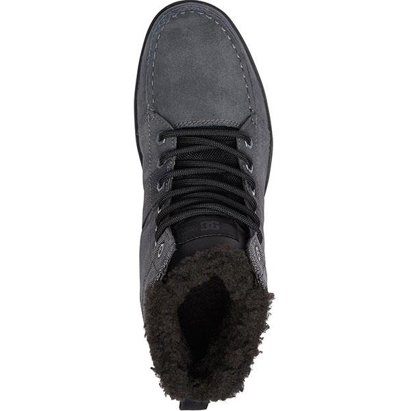 Ботинки зимние DC Shoes Woodland Grey/Black