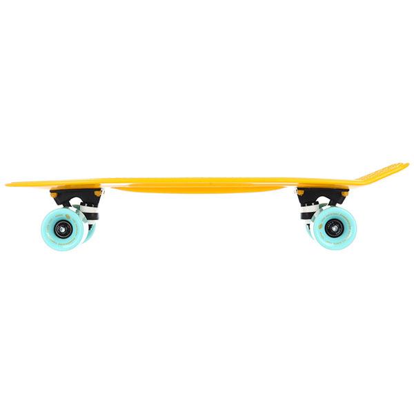 Скейт мини круизер QUIKSILVER Sea Breeze Yellow 6 x 22.5 (57 см)