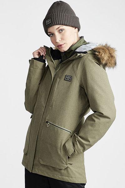 Куртка утепленная женская Billabong Into The  Olive